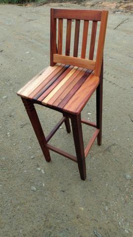Cadeiras de madeira de demolição - Foto 2