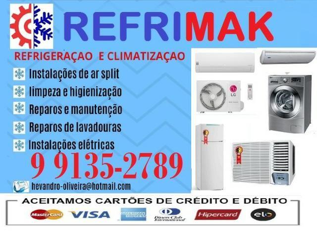 Técnico de refrigeração e serviços de ar condicionado