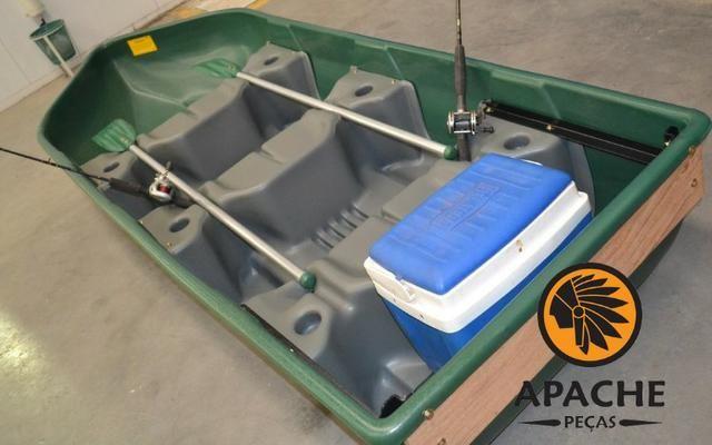 Barco Apache Pescador I/ Barco de Pesca/ Barco Motor/Melhor que caiaque - Foto 3
