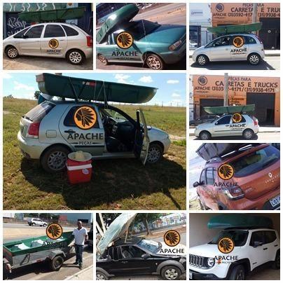 Barco Apache Pescador I/ Barco de Pesca/ Barco Motor/Melhor que caiaque - Foto 4