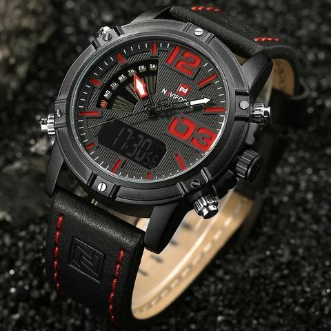 6580adefbd7 Relógio masculino importado original Naviforce super premium ...