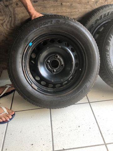 2 Aros e 2 pneus 195 65 15 - Foto 4
