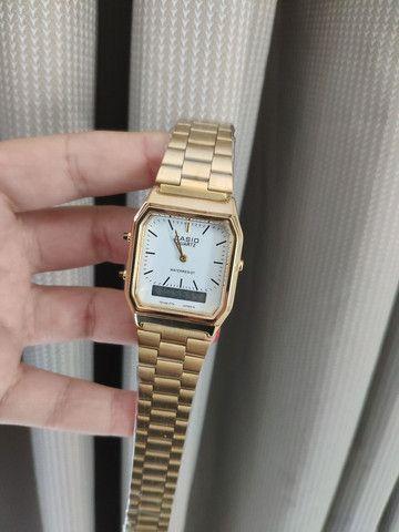 Relógio Casio ponteiro e digital  - Foto 2