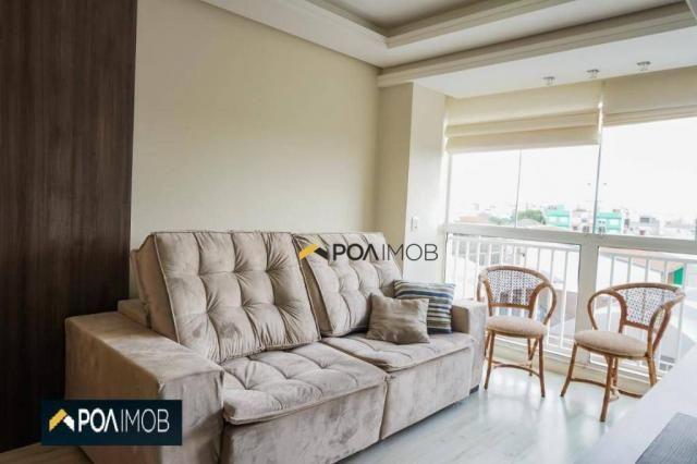 Apartamento com 2 dormitórios para alugar, 60 m² por R$ 2.652,00/mês - Cristo Redentor - P - Foto 11
