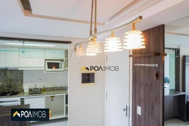 Apartamento com 2 dormitórios para alugar, 60 m² por R$ 2.652,00/mês - Cristo Redentor - P - Foto 15
