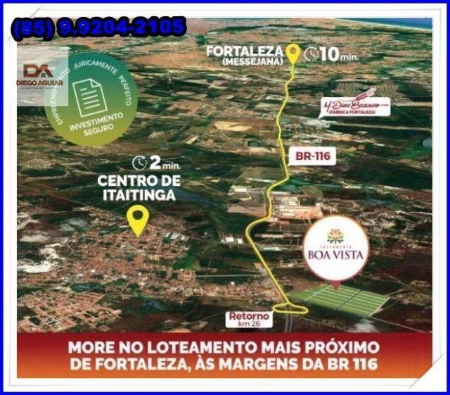 Lotes com construção liberada as margens da BR-116 Loteamento Boa Vista!! - Foto 5