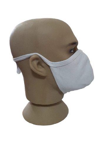 Máscara de tecido duplo lávavel, á partir de 100 pçs 1,00 - Foto 3