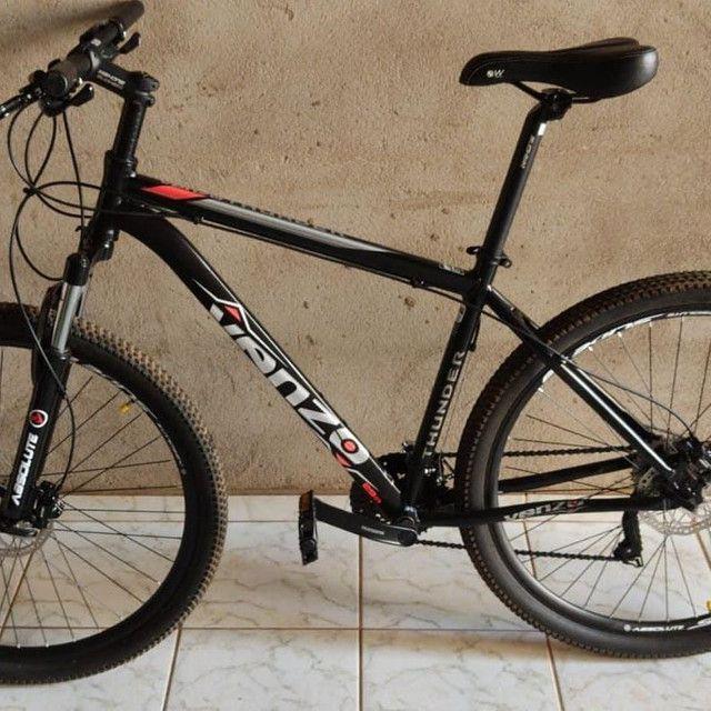 Bike a venda, menos de um mês de uso. - Foto 2