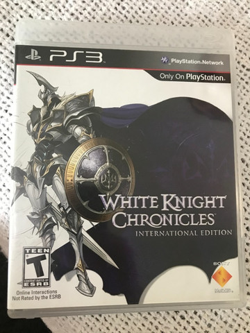 Game PS3 - White Knight Chronicles