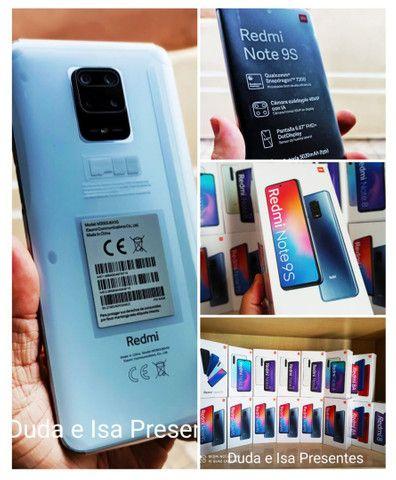Note 9s 128gb/6gb ram xiaomi azul,cinza, branca novo na caixa - Foto 2