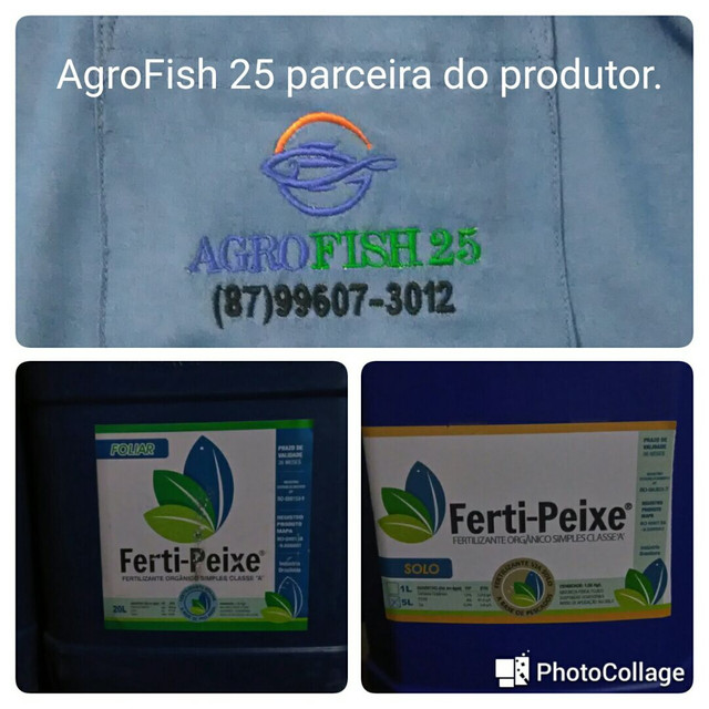Ferti-peixe, proteína hidrolisado de pescado. - Foto 2