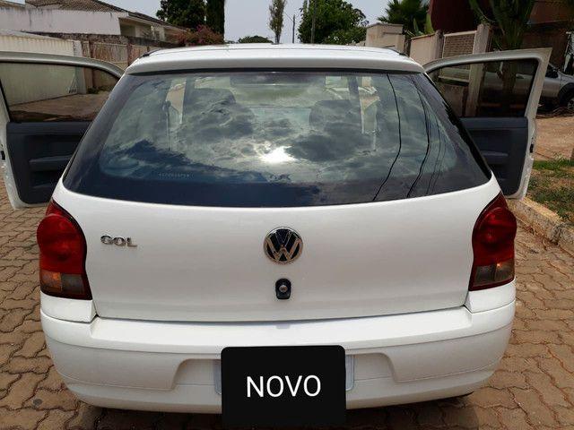 Vendo VW Gol Ecomotion 1.0 MI Total Flex 8V 2 portas.  - Foto 2