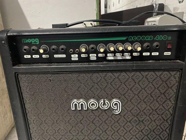 Caixa amplificada Moug Acoord 480S - Foto 2