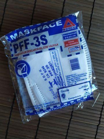 Máscara pff3-s com Válvula excelente qualidade - Foto 5