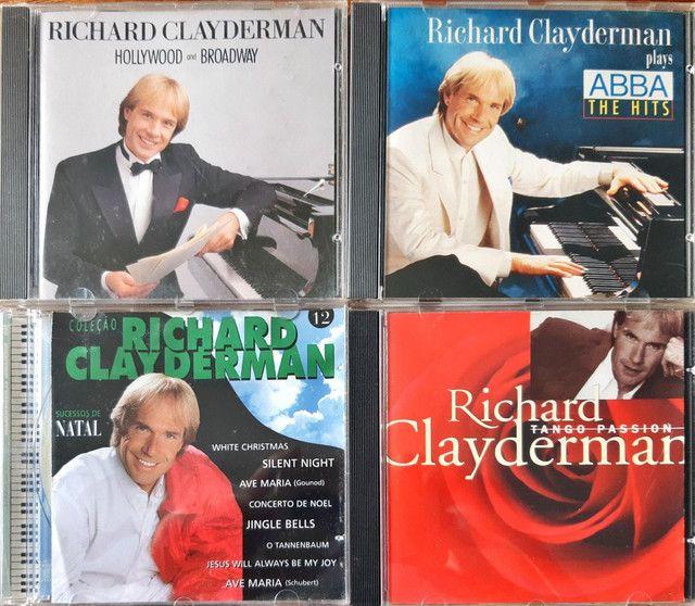 CDs RICHARD CLAYDEMAN originais - Foto 4