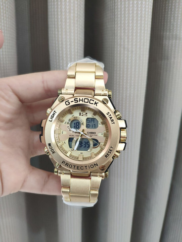Relógio G Shock Masculino dourado  - Foto 2