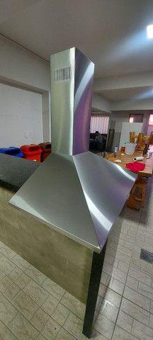 Coifa de inox Electrolux (90cm) - bivolt (valor a negociar) - Foto 2