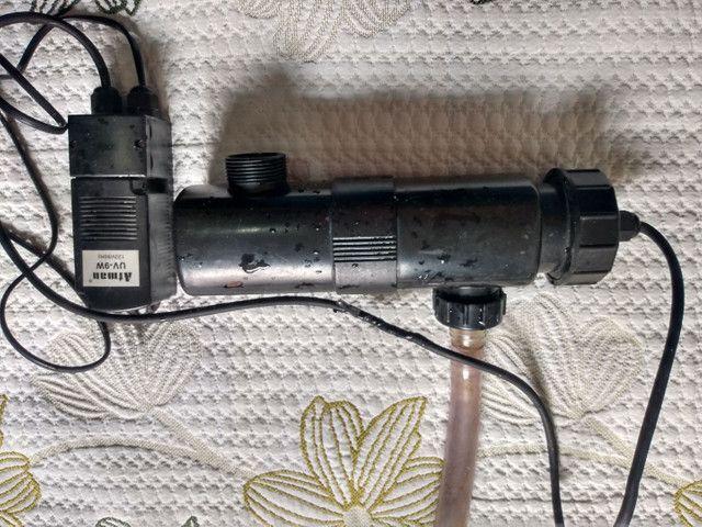 Filtro uv 9w com reator