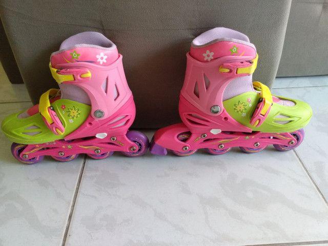 Patins Roller In-Line feminino