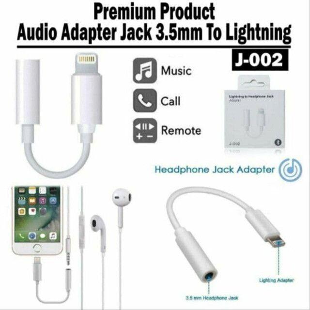 Adaptador de fone/iPhone,iPad,iPod - Foto 3