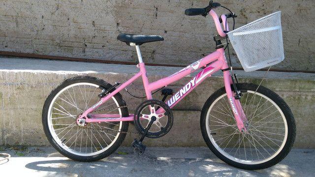 Bicicleta aro 20 rosa - Foto 5