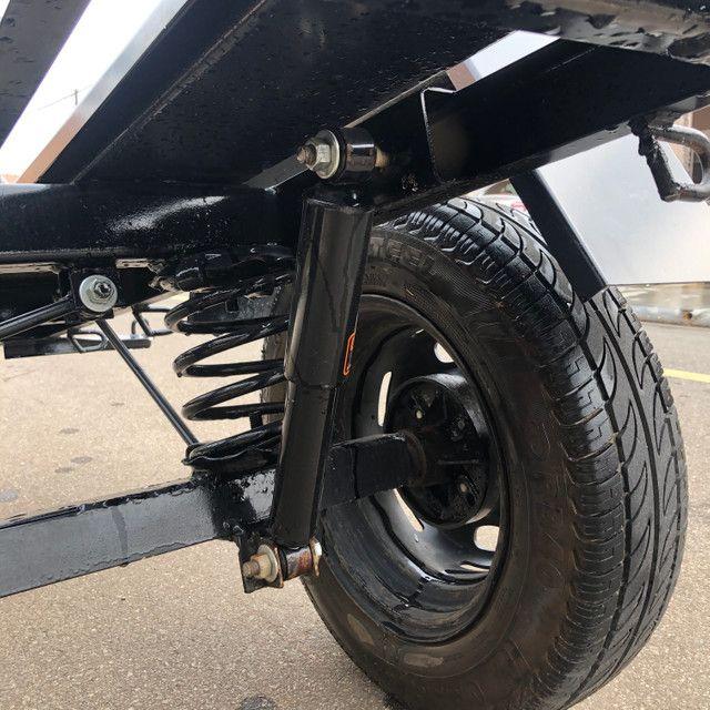 Carretinha para 03 motos - Foto 4