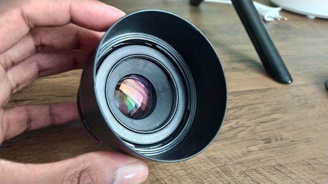 Lente Canon 50mm 1.8 STM + Para sol - Foto 2