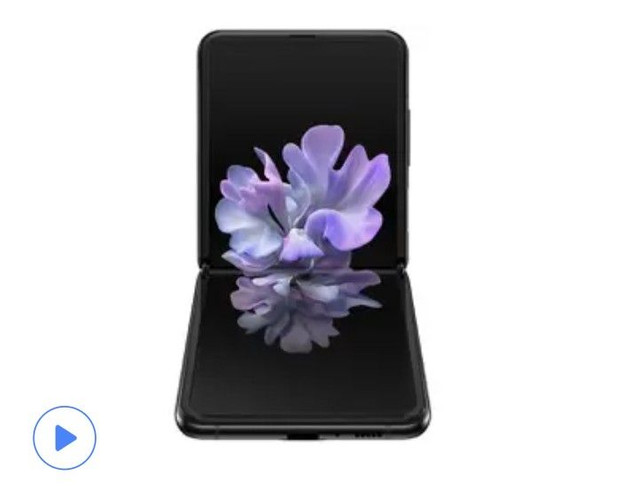 Smartphone Galaxy Z Flip 256GB Preto4G-Octa-Core 8GB RAM 6,7Câm.Dupla+Selfie10MP<br><br> - Foto 2