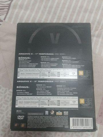 """Coletânea de CDs - Série """"Arquivo X"""" - Foto 3"""