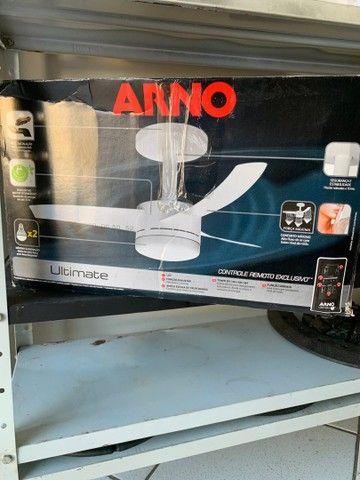 Ventilador de teto Arno 127v com controle remoto (novo)
