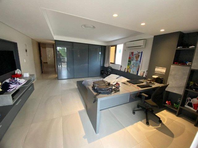 Casa belíssima a venda no Bosque das Gameleiras - 04 suítes - 538m - Luxo! - Foto 9