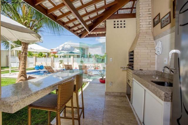 Casa em Condomínio para Venda em Camaçari, Barra do Jacuípe, 4 dormitórios, 4 suítes, 5 ba - Foto 3