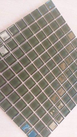 Pastilha de vidro 30x30 A089 Algas 2,5x2,5-Primeira Linha - Foto 3