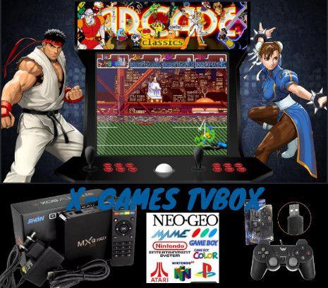 TV Box com jogos Arcade - Foto 4