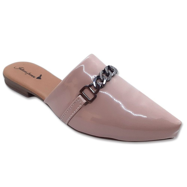 Mule Feminino Sapato Sapatilha Sandália  Confortável Casual  - Foto 4