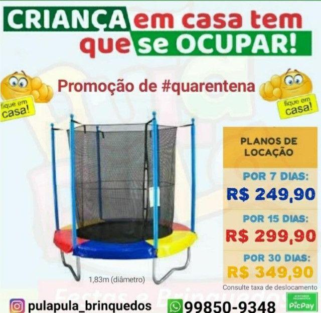 Aluguel - Super Promoção Pula Pula 1,50m - 7, 15 ou 30 dias - Foto 5