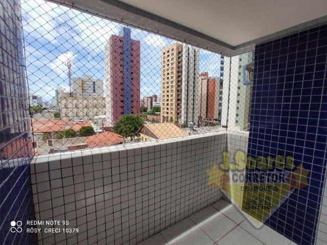 Tambaú, 3 quartos, 2 suítes, 100m², R$ 1.800, Aluguel, Apartamento, João Pessoa - Foto 2
