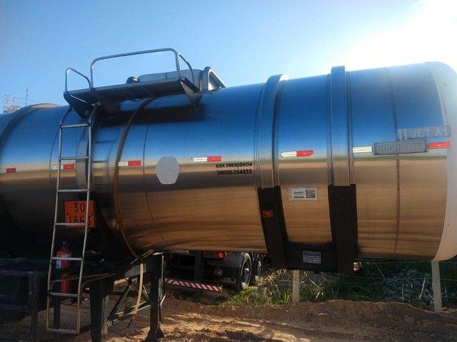 Bitrem tanque inox impecável Aceito caminhonete diesel no negócio