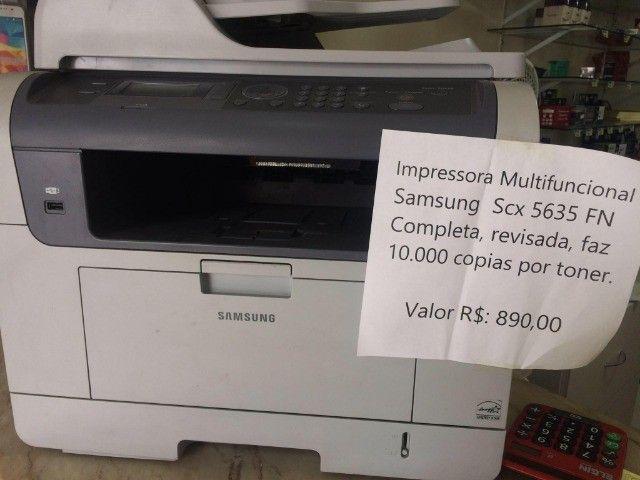 Samsung SCX-5635FN multifuncional Laser - Foto 3
