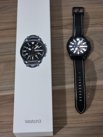 Smartwatch Samsung Galaxy Watch 3 - 45 mm - preto - Foto 2