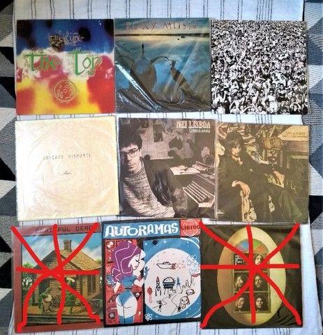 Diversos LP's, Vinil
