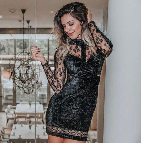 Vestido veludo - Foto 2