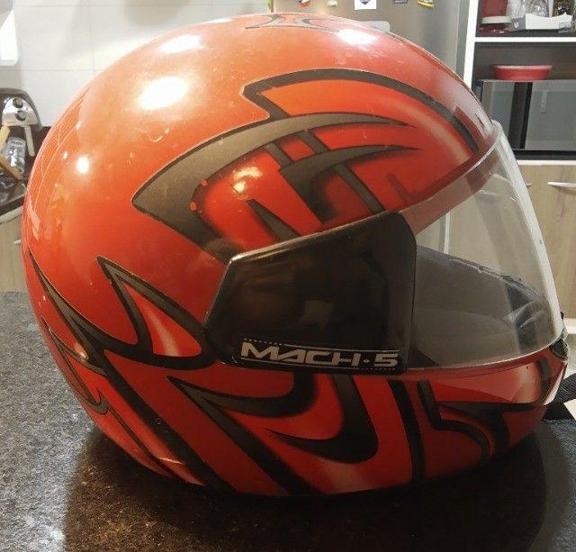Capacete Moto Match 5  - Foto 4