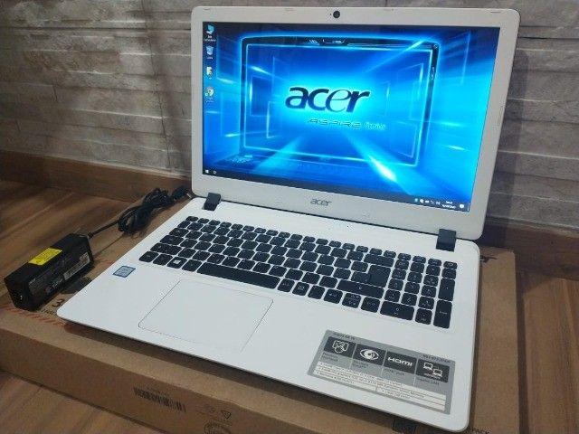 Notebook Acer Branco +Intel Core i3-6006U +DDR4 8Gb +SSD 240Gb