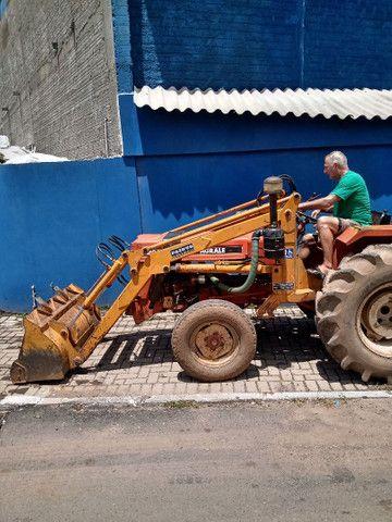 Trator carregadeira usado
