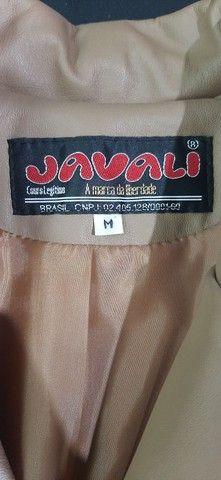 Jaqueta de couro feminina  - Foto 2