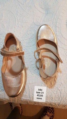 lindos sapatos de marca  menina de várias numeração