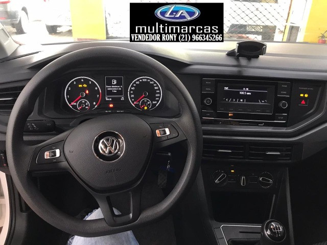 Vw VolksWagen Virtus 1.6 MSI Mec. 2020. Entrada a partir de 13.500,00 + 48x de 1.149,99 - Foto 6