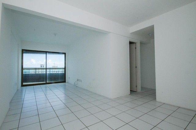 Apartamento com 3 quartos para alugar, 94 m² por R$ 3.385/mês com taxas - Boa Viagem - Rec - Foto 2