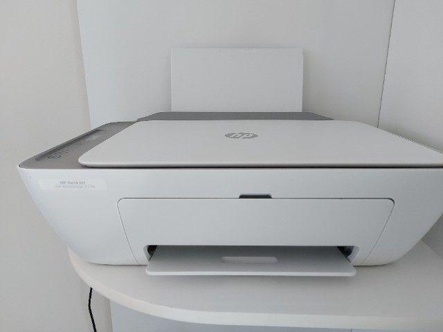 Multifuncional Hp 2776 Wi-fi + Kit de tintas de recarga do cartucho